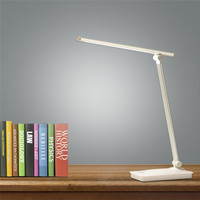 LAIDEYI 5W USB Rechargeable LED Touch Table Desk Lamp Dimmable Reading Study Light Student Eye Protection Three Mode Desk Light