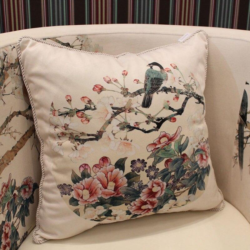 fundas cojines ikea Flower Cushion Nautical Pillows Vintage Cushion Covers