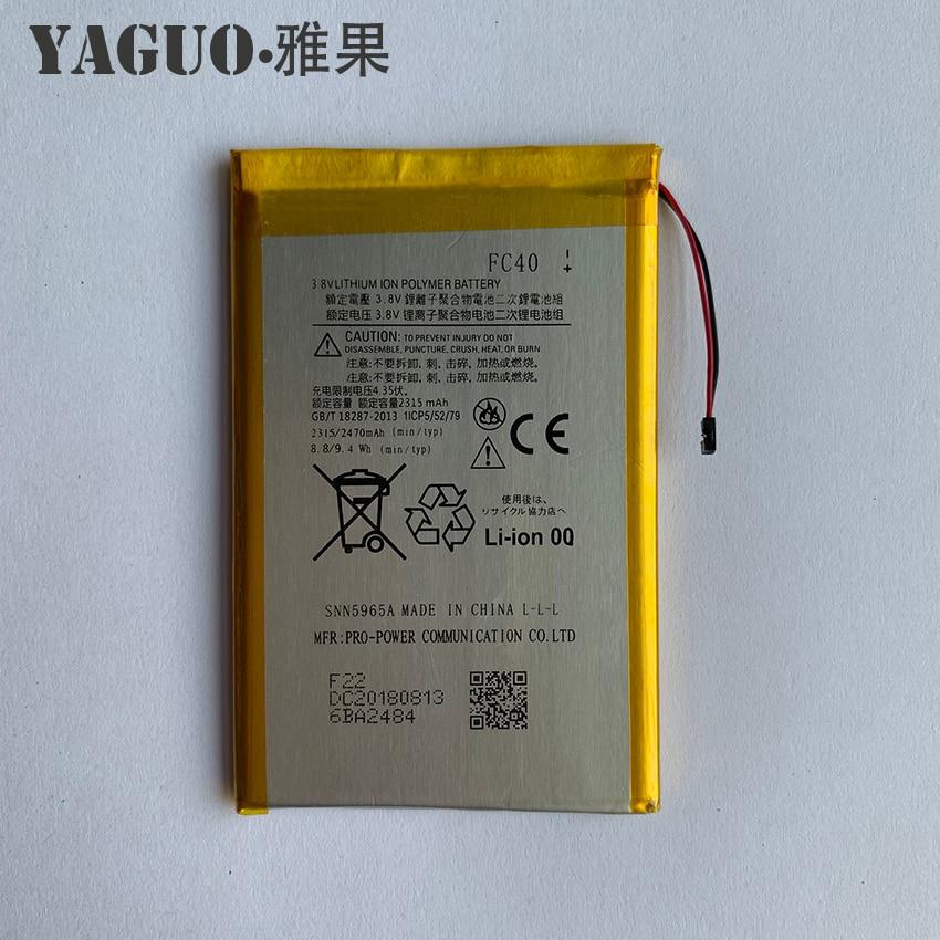 Original Yaguo Battery FC40 SNN5965A 2315mAh For Motorola Moto G 3rd G3 XT1540 XT1541 XT1543 XT1544 XT1548 XT1550 XT1557