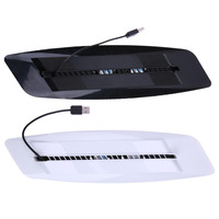 USB Hub Dual Controller Cooling Fan Charging Dock Console Stand Gaming Charging Stand For PS4