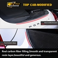 Free shippingHigh Quality carbon fiber  for Panamera Car Spoilers Trunk Wing For Porsche Panamera T Style