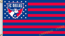 3X5FT FC Dallas flag MLS banner  100D digital printing free shipping