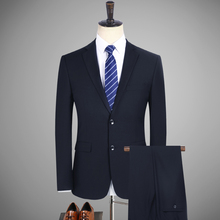 Professional suit two-piece men to work professional wear overalls (blazer + trousers) mens pioneers four seasons suits