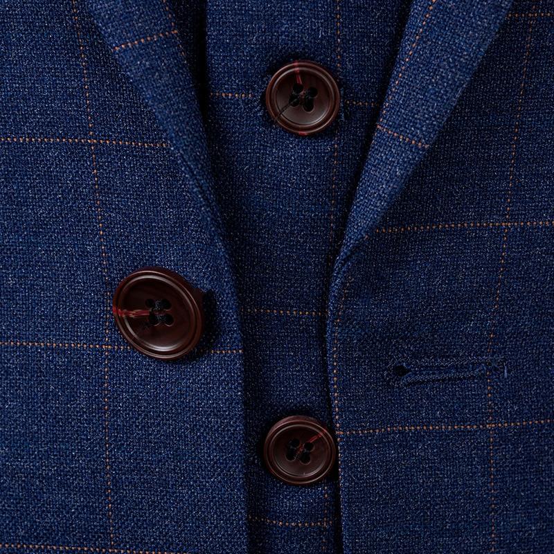 De Mode Bleu Hommes Costume marine Bleu Marié Costumes 2019 Affaires Mariage Nouveau Décontractée Automne Pour Gilet Design Printemps Pantalon Style veste Gentleman H4nZOqO