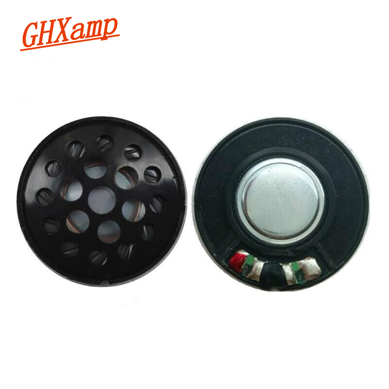 30Mm Headphone Speaker Unit With Cap 113Db White Magnetic Headset Driver Full Range Speakers For Headphones 2Pcs