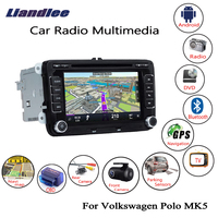 Liandlee For Volkswagen VW Polo MK5 2009~2013 Android Car Radio CD DVD Player GPS Navi Navigation Maps Camera OBD TV Screen
