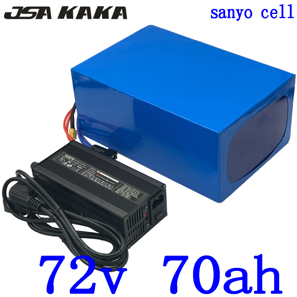 <font><b>72V</b></font> 70AH <font><b>Lithium</b></font> <font><b>battery</b></font> <font><b>72V</b></font> 70AH <font><b>60AH</b></font> 50AH Electric Bike <font><b>battery</b></font> <font><b>72V</b></font> 3000W 4000W 5000W Electric Scooter <font><b>Battery</b></font> use sanyo cell image
