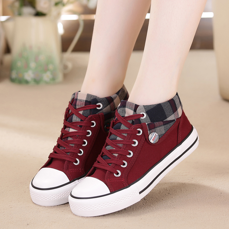 Image 4 - Summer Sneakers Women Casual Canvas Shoes Basket Femme Denim Ladies Trianers Fashion Women Vulcanized Shoes Zapatos Mujer 2020Womens Vulcanize Shoes   -