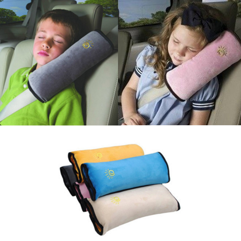 Baby Playpens Auto Pillow Car Safety Belt Child Protect Shoulder Pad Adjust Vehicle Seat Cushion For Kids Sleep Shoulder Pillow