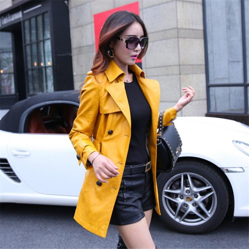 Winter Basic Faux   Leather   Bamber Jackets Women Coat Chaqueta Mujer Casaco Feminino Women Fashion Plus Size Harajuku Clothes Long