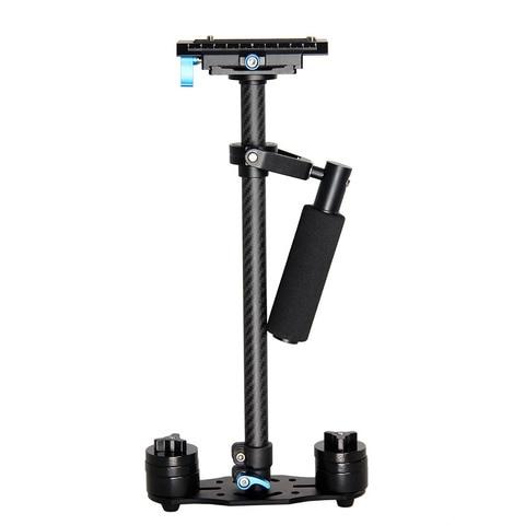 Portátil de Fibra Melhor do Que Yelangu Profissional Carbono Mini Handheld Câmera Estabilizador Dslr Filmadora Vídeo Steadicam S60 S60t