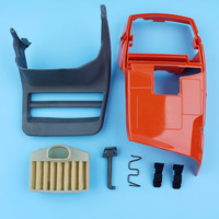Chain Brake Handle Engine Cylinder Cover For Husqvarna 372 365 371 362 Chainsaw WT Air Filter Choke Rod Clips 503 76 49 03