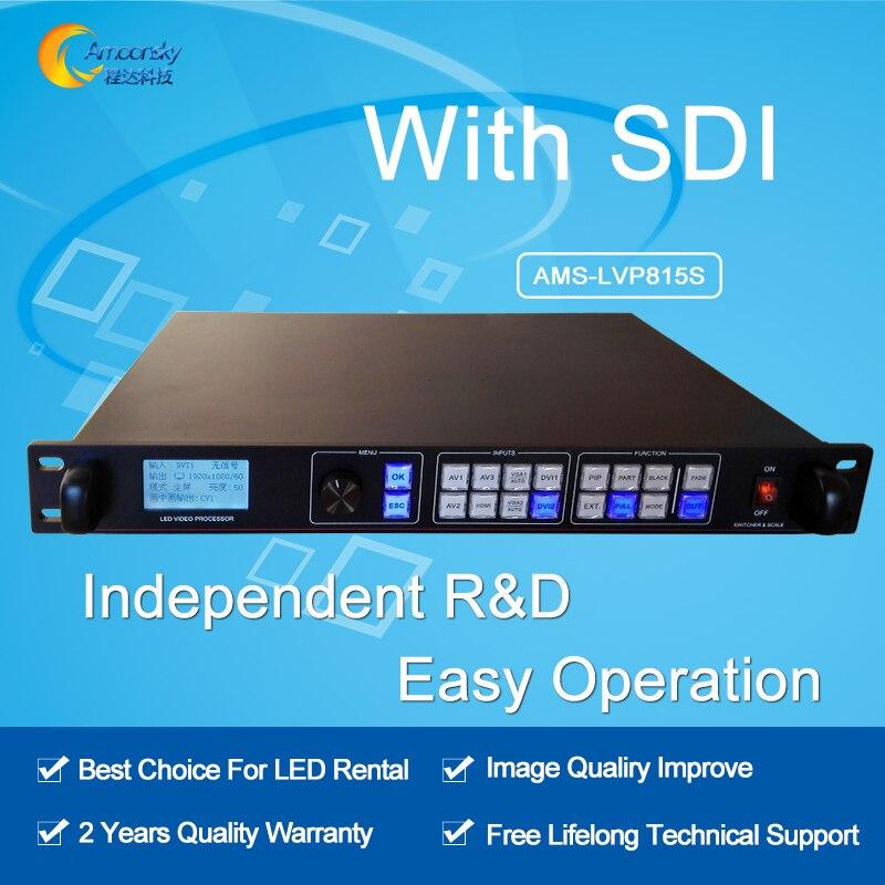 AMS-LVP815S led video seamless switcher led video processor sdi video input switcher wavelets processor