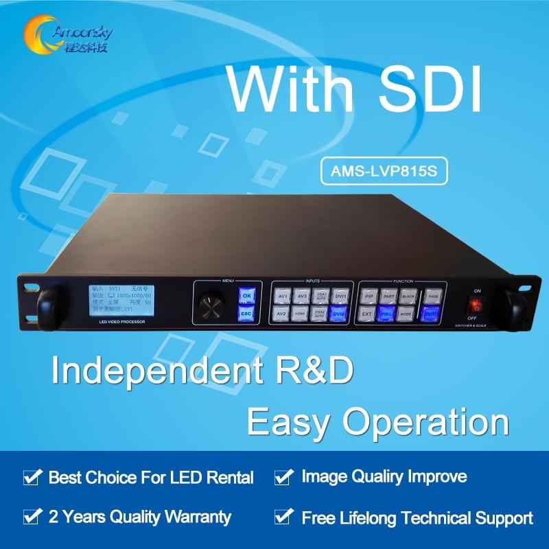 AMS LVP815S led video seamless switcher led video processor sdi video input switcher