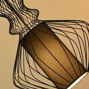 Image 3 - ヴィンテージ工業照明ペンダントライトサスペンション照明器具アメリカ錬鉄製のレトロなダイニングルームキッチンペンダントランプ