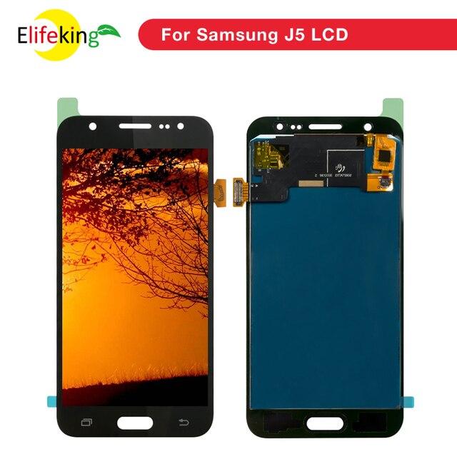 1PCS J500 LCD For Samsung Galaxy J5 2015 LCD Display J500 J500F J500FN J500M J500H Touch Screen Digitizer display Phone Repair