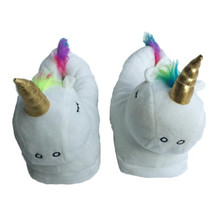 All Inclusive With Cotton Shoes Cartoon Cute Unicorn Slippers Home Furnishing Cotton Slippers In The Bedroom H404