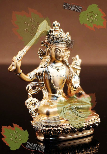 Manjushri Tibetan/Tantric/ Buddha Statues /carry Small Reservoirs Can Be Installed\feng Shui