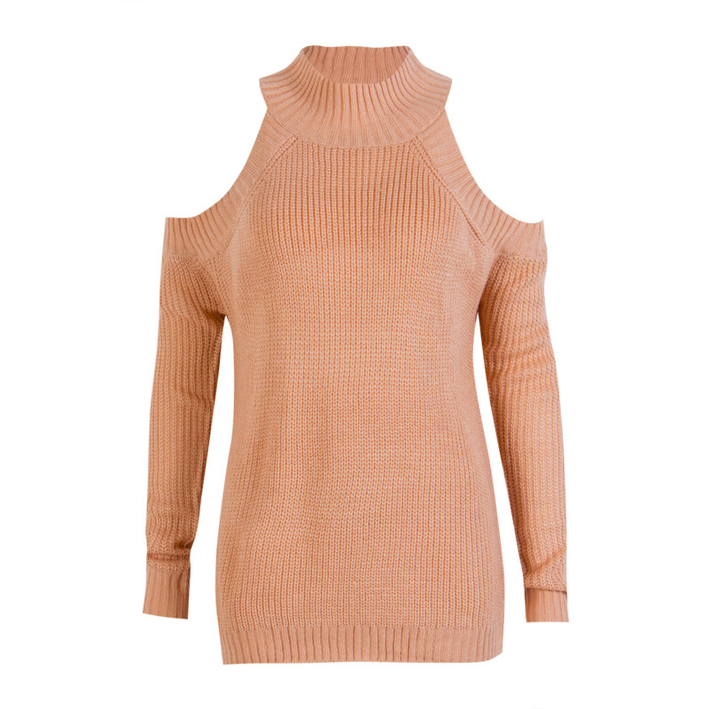 2017 Newest Fashion Family Outfits Mom Baby Long Sleeve Knitted Off Shoulder Pullover Loose Sweater Jumper Knitwear
