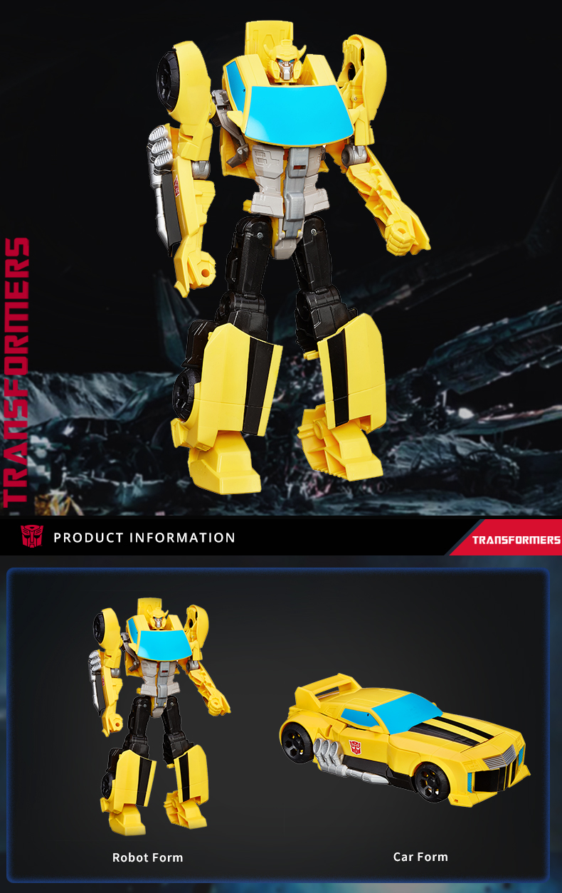 Action Figures Transformers Toys Heroic Bumblebee Timeless Large-Scale Figure,