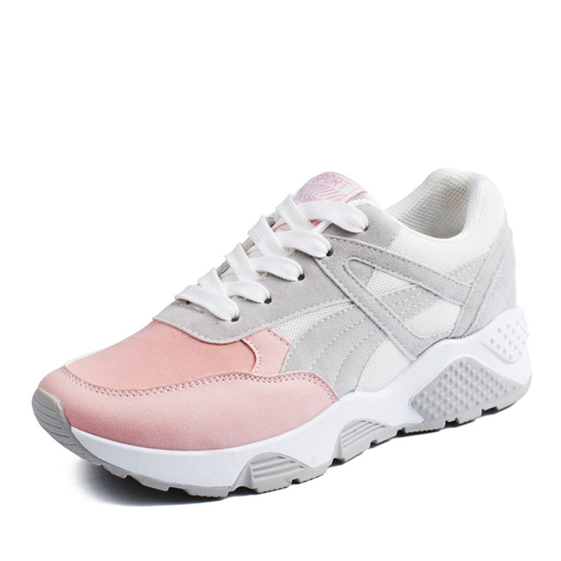 E TOY WORD 2019 Spring womens sneakers Mesh Womens Casual Shoes Outdoor Gym Breathable Vulcanized Shoes basket femme in Women 39 s Vulcanize Shoes from Shoes