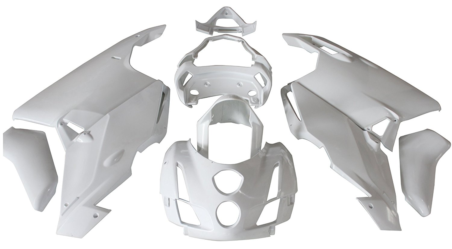 Fairing Kit Bodywork For Ducati 999 / 749 2003 2004 03 04 ABS Plastic Unpainted Fairings Cowl Case Motorcycle custom design monster color top grade quality injection mold fairings bodywork for ducati 999 749 03 04 kits