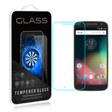 For Motorola Moto G4 Plus Tempered Glass 9H Unique Protecting Movie Explosion-proof Display Protector for Motorola Moto G4 Plus