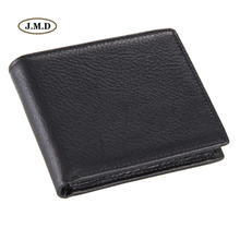Купить с кэшбэком J.M.D Genuine Leather Men's Fashion Style Wallet Men's Purse Card Holder Money Holder Photo Windows Causal Purse 8062A/C