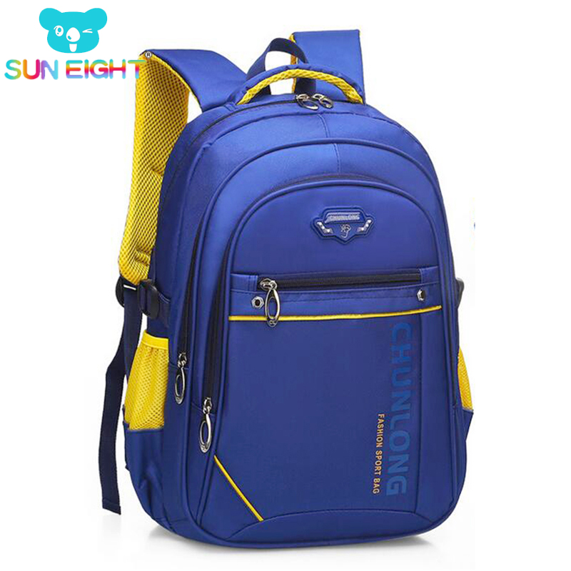 Big Capacity Unisex Zippers Boy Backpack Large Size For Men Travel Nylon School Bags For Boy