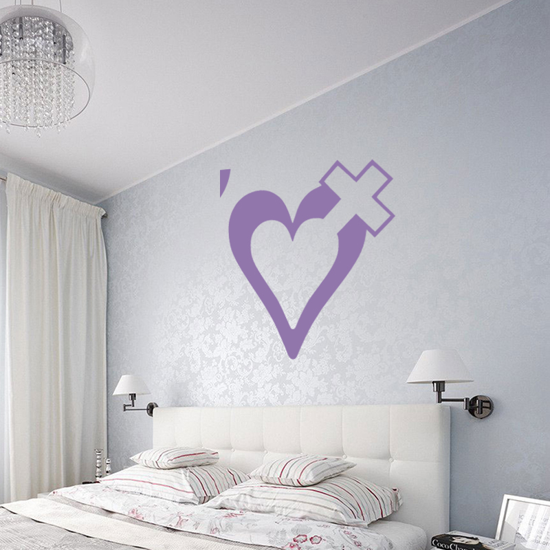 Cute Christian Wall Sticker For Kayak Vinyl Decal Bedroom Art Deco Living Room In Wall Stickers