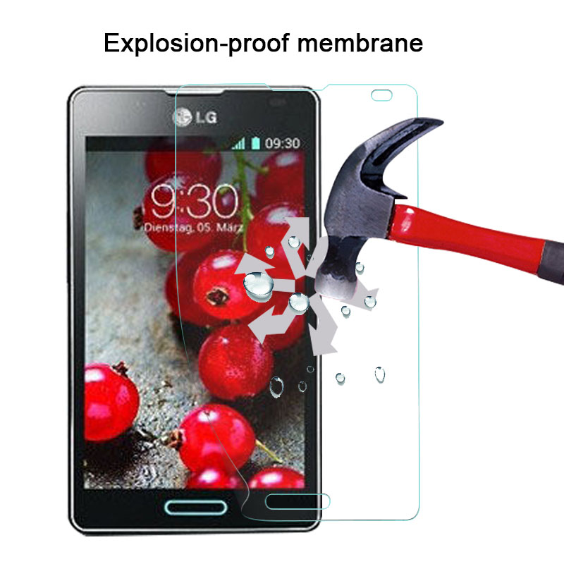 New Fashion Udapakoo Clear Tempered Film For Lg Optimus L9 Ii D605 Nano Explosion-proof Glass Screen Protector Easy To Repair soft Glass