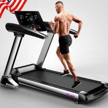 HD цветной экран, электрическая беговая дорожка, Bluetooth, складная беговая дорожка для домашних упражнений, тренировок, занятий спортом в помещении, для домашних беговых дорожек