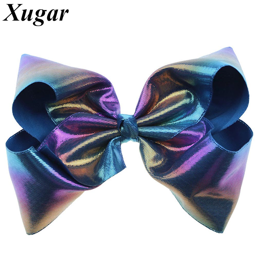 7 Inch Large Leather Colorful Loser Hairs