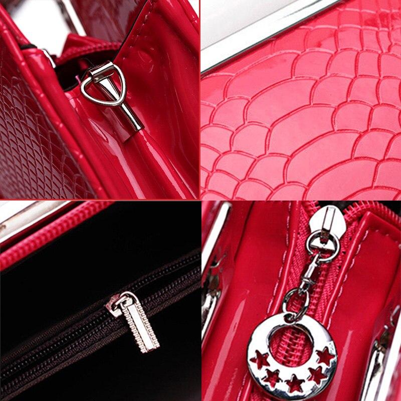 Yeni isti Soylu Xanımlar Çantaları Moda Qadın Alligator Dizayn - Çantalar - Fotoqrafiya 5