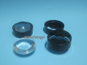 Image 2 - 10 pces 60 graus lente refletor colimador com suporte conjunto para 1w 3w 5 led
