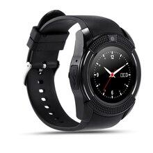 Vollbild Smart Watch V8 Uhr Mit Sim-tf-karte Sync Notifier Smartwatch Für IOS Android Sportuhr PK GT08 Tragbare Uhr