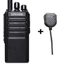 Professionale VV-25W UHF 400-480 MHz 25 W Radio Bidirezionale del Ricetrasmettitore Walkie Talkie Con 4000 mAh