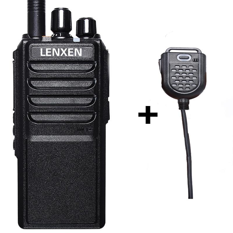 imágenes para Professionale VV-25W UHF 400-480 MHz 25 W Radio Ricetrasmettitore del Bidirezionale Walkie Talkie Con 4000 mAh