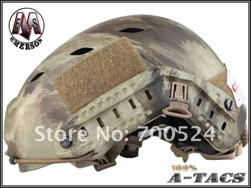 Для страйкбола фирмы emeson Быстрый шлем для бейсджампинга(уплотнения пластины Highlander ATFG Mandrake Marpat Пустыня AT) em5659c