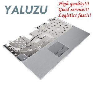 Free Shipping YALUZU NEW FOR Dell XPS M1330 Laptop Palmrest Cover Upper Case Keyboard Bezel Touchpad Assembly RW210 0RW210 Palmrest + Touchpad — cnryteauy