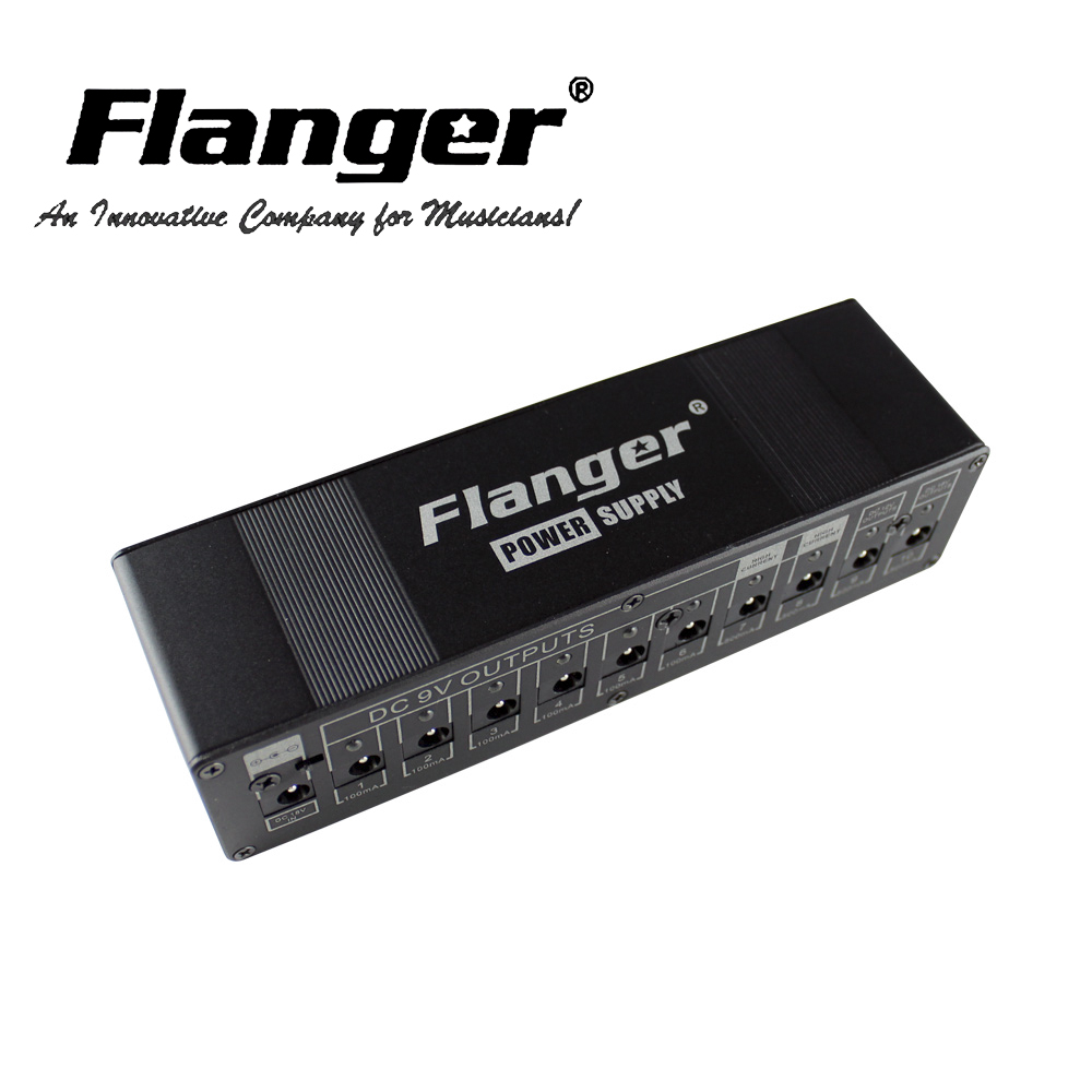 flanger guitar effect pedal power supply for dc 9v 12v 18v outputs guitar pedal safety voltage. Black Bedroom Furniture Sets. Home Design Ideas