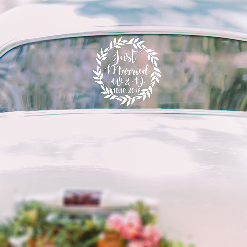 Buy wedding sticker car and get free shipping on aliexpress com