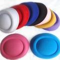 12pcs/lot Hen Party Mini Top Hat Hair Fascinator base Woman Girls DIY Hair accessories