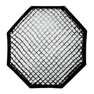 "Image 4 - Godox Pro 95 cm 37 ""Octagon siatki o strukturze plastra miodu Bowens Mount Softbox reflektor Softbox do Studio Strobe Flash Light"