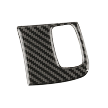 For Audi A4 B8 2009 2010 2011 2012 2013 2014 2015 2016 Carbon Fiber Ignition Key Hole Frame Cover