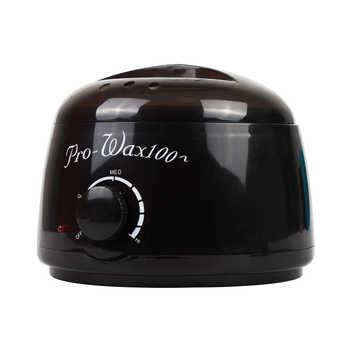 Hair Removal Electric Wax-melt Wax Machine Heater 200/100g Wax Beans 20pcs Stickers Hair Removal Sets Waxing Kit cera depilatori