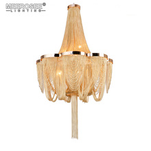 French Empire pendant Post Chain Aluminum Suspension Light Hanging Drop Lustre for Living room Hotel Project Lights new arrival k9 crystal pendant light modern fashion single light led dining room hotel project lustre suspension drop light