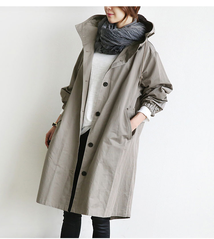 Spring Loose Overcoats Bat Sleeved Womens Windbreaker Casual Colete Feminino Jaqueta Feminina Inverno Coat Cardigan