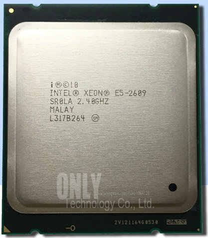 E5 2609 Original Intel Xeon E5-2609 2.4GHz 10M 6.4GT/s 4 Core DDR3 1066MHz FCLGA2011 TPD 80W CPU Processor free shipping