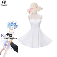 ROLECOS New Arrival Anime Cosplay Costume ReLife In A Different World From Zero Ram Flower Wedding